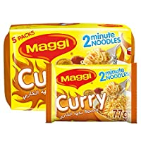 Maggi 2 Minute Noodles Curry 79g (Pack of 5)