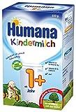 Humana Kindermilch 1+, ab dem 1. Jahr, 4er Pack (4 x 550g)
