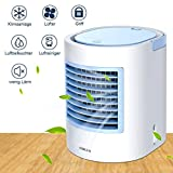 Aire acondicionado portátil, refrigerador portátil, forma fácil y rápida de refrescar el espacio...