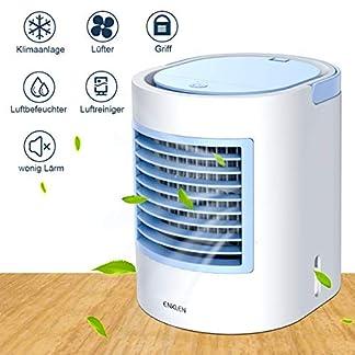 Aire acondicionado portátil, refrigerador portátil, forma fácil y rápida de refrescar el espacio personal, adecuado para la habitación, la oficina y la sala de estudio.
