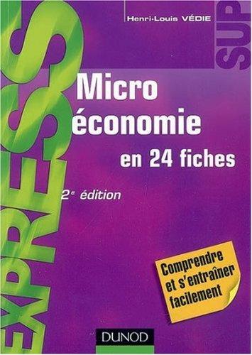 Microéconomie par Henri-Louis Védie