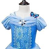 URAQT Mädchen Prinzessin Kleid Verrücktes Kleid Partei Kostüm Outfit Vergleich