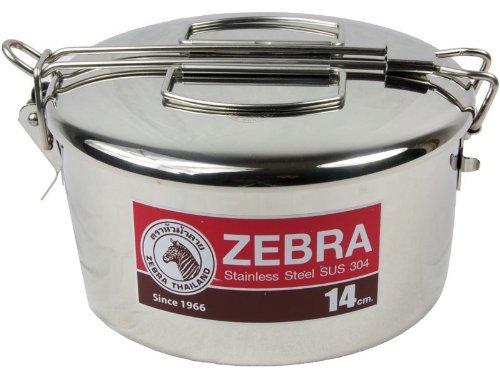 Zebra Feldgeschirr Camping-Topf 14cm mit Griff -