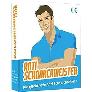 Der Anti-Schnarchmeister – Schnarchschiene – Schnarchstopper – Die effektivste Lösung gegen Schnarchen