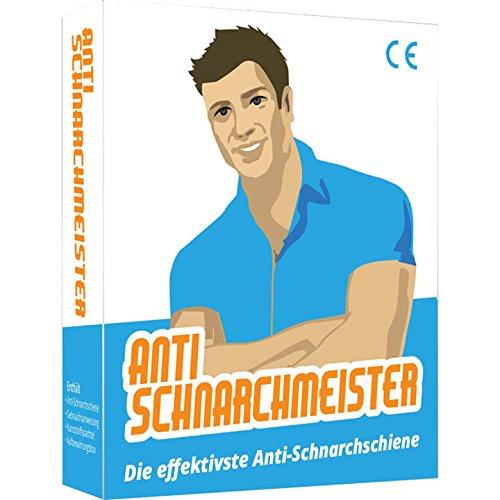 Der Anti-Schnarchmeister - Schnarchschiene - Die effektivste Lösung gegen Schnarchen