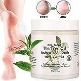 Soporte Peeling corporal, anti Seta teebaumöl Cuerpo y pies exfoliante, tratamiento de uñas - Best Reviews Guide