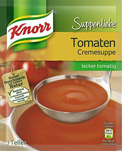 Preisvergleich Produktbild Knorr Suppenliebe Tomatencreme Suppe 3 Teller