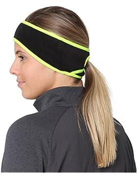 TrailHeads Goodbye Girl Ponytail Headband (Women's) - black/hi-vis