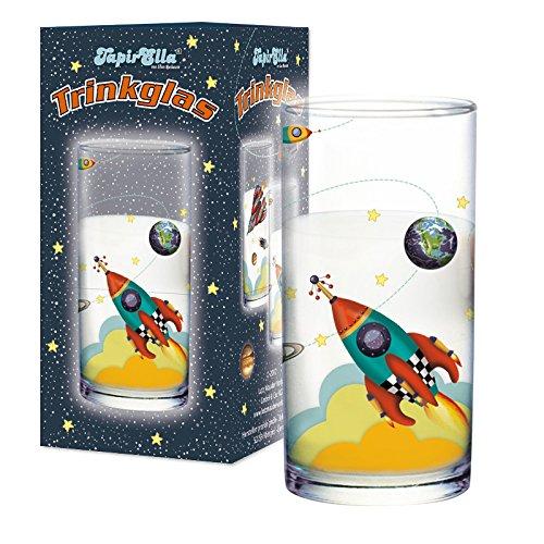 Lutz Mauder 19607 TapirElla Trinkglas Rakete -