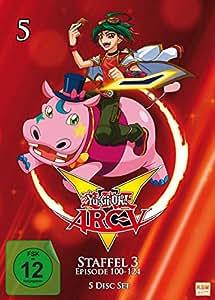 Yu-Gi-Oh! Arc-V - Staffel 3.1: Episode 100-124 [5 DVDs]