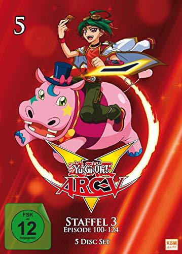 Yu-Gi-Oh! Arc-V - Staffel 3.1 (Episode 100-124) (5 DVDs)