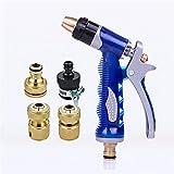 AMYMGLL Pistola ad acqua ad alta pressione con la tuta congiunta protezione dell'ambiente giardino domestico innaffiando tutta l'acqua di lavaggio del rame auto d'urto dell'automobile di super-impatto dell'auto Strumento di lavaggio