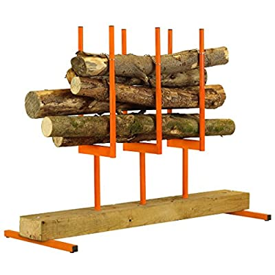 Forest Master Bulk Log Stand 3 Multi Log Saw Horse Chainsaw