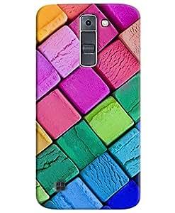 FurnishFantasy 3D Printed Designer Back Case Cover for LG K10,LG K10 LTE