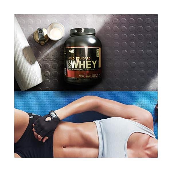 Optimum Nutrition Gold Standard 100% Whey Proteine in Polvere con Proteine Isolat ed Aminoacidi per la Massa Muscolare… 4 spesavip