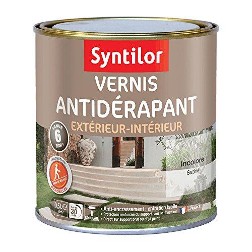 Syntilor - Vernis Antidérapant Incolore Satiné 0,5L