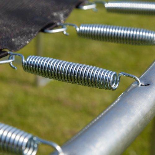 Trampolin mit Stahlfedern
