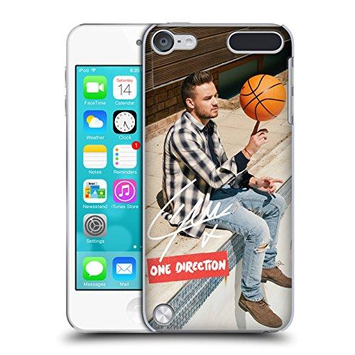 Head case designs ufficiale one direction palla basket bianca foto singole autografate cover dura per parte posteriore compatibile con ipod touch 5g 5th gen