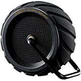 AUKEY Sports Speaker Outdoor Waterproof Wireless Bluetooth Speaker, Tire Design, AUX Support, Hands-free Phone Call, Compatible with iPhone, Android and Windoes Smartphone and Tablets (SK-M4 Black)