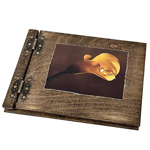 Livre d'or de mariage Calla 2 anneaux 200 pages Cadeau idéal pour vos proches