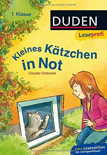 Leseprofi – Kleines Kätzchen in Not, 1. Klasse (DUDEN Leseprofi 1. Klasse)