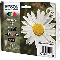 Epson Claria Home Serie 18 Cartucce Inchiostro, Multipack 4 Colori, Formato Standard, Nero, Ciano, Magenta, Giallo…