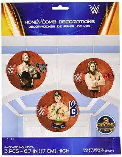 29146717cm WWE Honeycomb Dekoration Kit ()