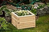 Larisa Blumentopf, Blumenkasten, Pflanzkasten auf Holz ! HIT 40 bis 120 cm !!!