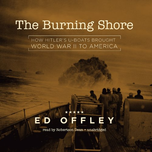 The Burning Shore  Audiolibri