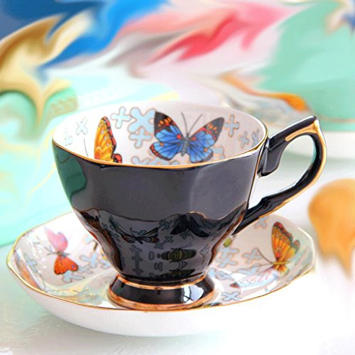 Met bestiame Love Bone Coffee Cup Set Afternoon Tea Tile farfalla ceramica tazza di tè nero 170ml