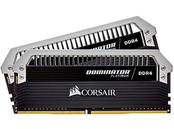 Corsair - Dominator Platinum 16GB (2 x 8GB) DDR4-3333 Memory