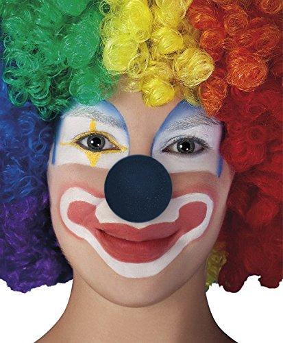 Clownsnasen Clown Zirkus Zubehör versch. Farben (Schwarz) (Schwarz Und Lila Narr Kinder Kostüme)