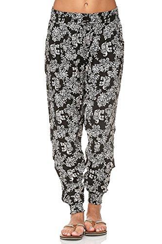 ellebasi24 GmbH - Pantalón Deportivo - para Mujer Elefant Schwarz X-Large/XX-Large