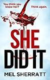 She Did It by Mel Sherratt