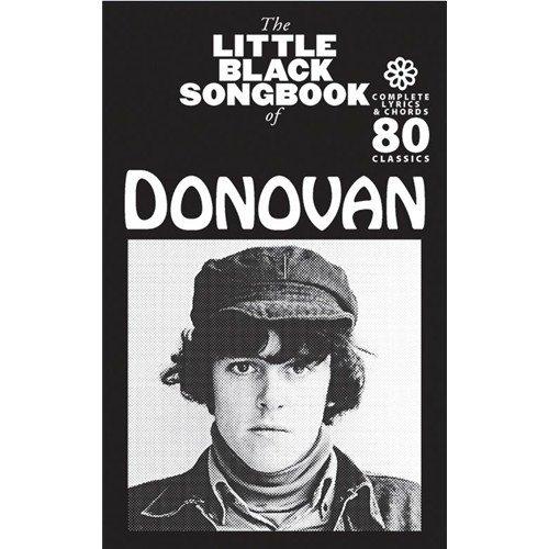 The Little Black Songbook Of Donovan. Für Gitarre, Nur Text