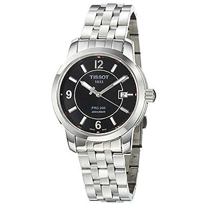 Tissot PRC 200 T0144101105700 - Reloj de caballero de cuarzo, correa de acero inoxidable color gris