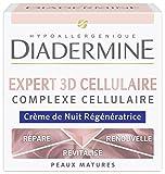 Diadermine - Soin de Nuit Anti-rides - Expert Cellulaire 3D - 50 ml