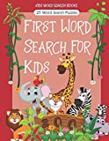 Kids Word Search Books: First Word Search For Kids: word search for kids, easy word search for kids, kids word search, kids coloring, kids activity book