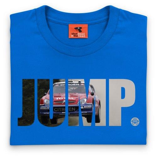 PistonHeads Jump T-Shirt, Damen Royalblau