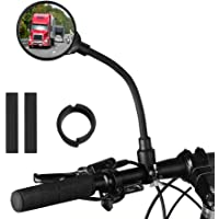 a Rear-View Mirror That Can Rotate 360/° Cross-Country Bikes NEW BARLEY Bicycle Rear-View Mirror Mountain Bikes Motorcycles Etc Suitable for Bicycles