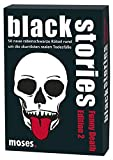 Moses. black stories Funny Death Edition 2 | 50 rabenschwarze Rätsel | Das Krimi Kartenspiel