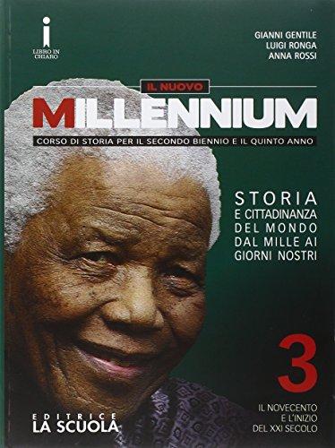 Il nuovo Millennium. Per le Scuole superiori. Con DVD-ROM. Con e-book. Con espansione online: 3
