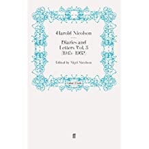 Diaries and Letters Vol. 3 (1945-1962) (Harold Nicolson diaries and letters) by Harold Nicolson (2012-06-14)