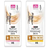 Purina Wet Renal Diet Cat Food Salmon 5+ Chicken 5, Pack of 10 x 85 gr