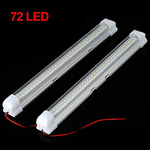 72 LED Innenbeleuchtung Auto 12V Beleuchtung Innenraum Lampe Licht (2 STK)