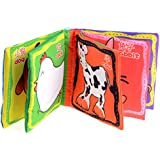 1pc Intelligence Development Cloth Cognition Book Learning & Activity Toys for Kids Baby (Farm Animal)