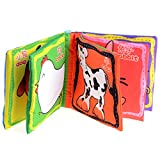 1pc Intelligence Development Cloth Cognition Book Learning & Activity Toys for Kids Baby (Farm Animal) 51Al3XL13RL