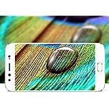 Vivo V3 Full Screen Tempered Glass 4D [ 9H Hardness ] [ Edge To Edge Glass ]For Vivo V3 ((White))