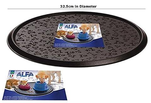 Cat Napfunterlage Hund Futternapf-Wasser Futternapf Tablett abwischbar Boden