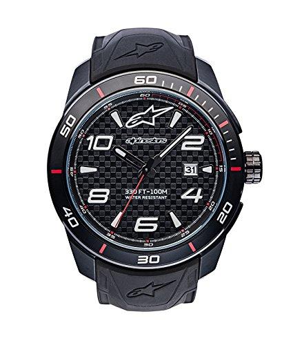 Alpinestars Analog Klassisch Quarz Uhr mit Silikon Armband 1036-96006